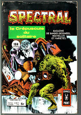 SPECTRAL n°4 # LE MONSTRE DES MARAIS # 1978 COMICS POCKET