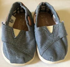 Infant Baby Boy Size 4 Toms Shoes