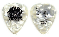 Queen Brian May Signature White Pearl Guitar Pick - 2005 Tour