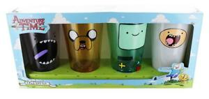 Adventure Time Faces 16oz Pint Glass 4-Pack