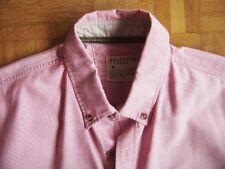 @ Selected @ estupendo Camisa manga corta rosa Basic Size M, como nuevas