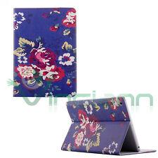 Custodia ROSE per iPad Mini mini 2 cover stand BOOKLET libretto BLU