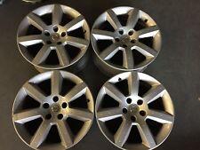 "Factory Nissan 350Z Wheels Rims 2003 2004 2005 17"" Set of 4 Centers #62413 62414"
