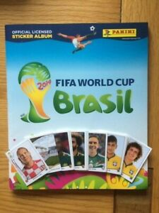 PANINI WORLD CUP 2014 BRAZIL STICKERS - CHOOSE 10 for £1.50