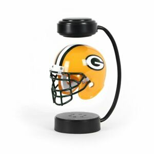 GREEN BAY PACKERS HOVER HELMET HALF SCALE REPLICA ROTATING MID-AIR LED LIGHTING