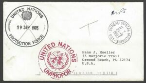 Croatia UNPROFOR United Nations Protection Force 1993 France Contigent cover