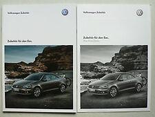 Prospekt Volkswagen Eos Zubehör, 10.2010, 32 Seiten + Preisliste
