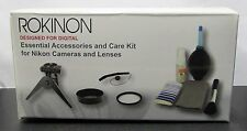 Rokinon Essential Accessory Kit for Nikon DSLR Cameras and Lenses  NEW