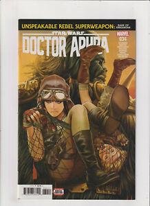 Doctor Aphra #34 NM- 9.2 Marvel Comics Star Wars 2019 Black Krrsantan app.