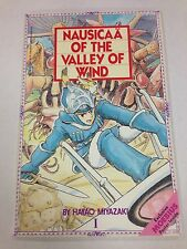 Nausicaa Of The Valley Of Wind #1 1988 Moebius fold out poster inside