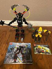 (2) LEGO Hero Factory sets...Black Phantom (6203) & EVO (6200), PLUS HALO