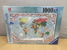 Ravensburger Piece Jigsaw 1000 Puzzles Portrait Of The Earth NEW AND SEALED