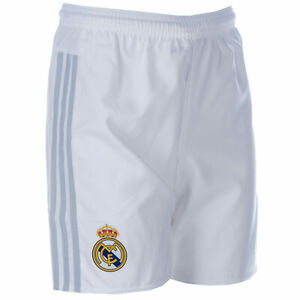 Real Madrid Football Shorts X Large Boys 13-14 Years 164 cm White/Grey Adidas
