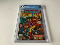IRON MAN 105 CGC 9.6 WHITE PAGES JACK OF HEARTS WRAITH MARVEL COMICS 1977