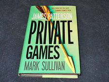 PRIVATE GAMES by JAMES PATTERSON & MARK SULLIVAN   2012 HARDCOVER  FREE SHIPPING