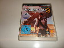 PlayStation 3 PS 3  PS3  Uncharted 3: Drake's Deception