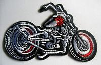 Chopper Motorrad Aufnäher Patch Biker