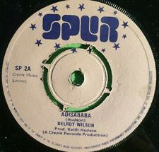 SPUR RECORDS. ADISABABA / RUDIE HOT STUFF .KEITH HUDSON DELROY WILSON