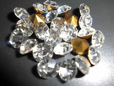 Swarovski vintage 24 chatons ss25 crystal