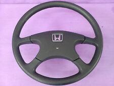 Honda Civic EF5 4WD shuttle Black Steering wheel 88-91 JDM Crx Civic EF8 EF9 EF2