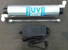 """UV Lamp 8"""" + UV Chamber + Adapter For RO Water Filter Purifier  With Warranty"""