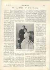 1901 Queen Mother And King Of Spain 15 Years Old Mr Dion Boucicault