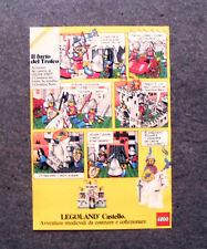 K958-Advertising Pubblicità- 1985 - LEGO , LEGOLAND , CASTELLO