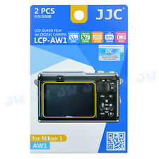 JJC 2PCS Hard Coating LCD Screen Guard Protector Film with Tissue For Nikon AW1