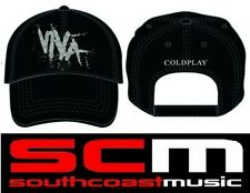 COLDPLAY VIVA LA VIDA LOGO BLACK HAT BASEBALL CAP