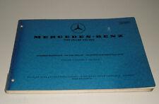 Catalogo Ricambi Mercedes Benz Tipo LP / Lap 321/322 Cabina Uscita a 08/1969