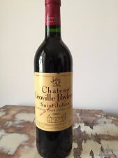 CHATEAU LEOVILLE POYFERRE 1994 ROUGE AOC SAINT JULIEN GRAND VIN DE BORDEAUX