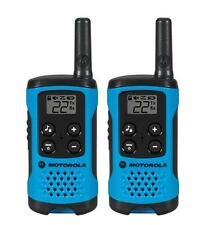 New Motorola Talkabout T100 Two-Way Radio Pair (Blue)