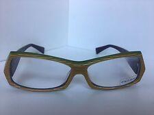 New ALAIN MIKLI AL 0945 AL0945 0006 58mm Striped Havana Eyeglasses Frame France