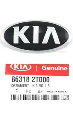 Front Bumper Emblem Hood Kia Logo Mark 2011-2020 Optima Genuine Badge Ornament