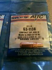 50 pcs - American Torch Tip, Welding Contact Tips .038id (part # 63-1138