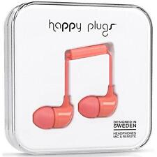 Happy Plugs in Ear Earphones With Mic and Remote