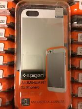 Lot of 20 Spigen Cell Phone Case for Apple iPhone 6 or 6s Silver Phone Cases