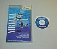 Nirvana Nevermind - UMD Movie & Music - Sony PlayStation PSP - 74 minutes Tested