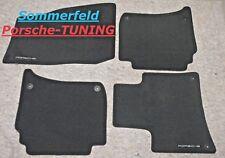 Fußmatten passend für Porsche Panamera 8.09-10.16 Velours Deluxe savannenbeige