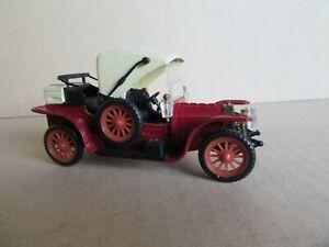66J RW Modell Allemagne Mercedes Kettenwagen 1905 Rouge 1:43