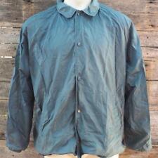 Vintage Windbreaker Jacket Mens Size L Navy Blue