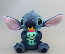Cute Lilo Stitch with SCRUMP 25cm  Soft Stuffed Plush Doll Toy Loose New