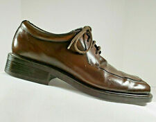 Kenneth Cole Reaction Brown Leather Derby Style, Bicycle Toe, Men's Size 11.5