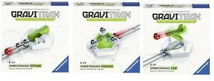 RAVENSBURGER  GraviTrax® 3 NEUE ERWEITERUNGEN - FLIP - VULKAN - TIPTUBE
