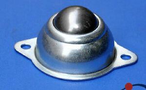 10Pcs Dia 5/8'' Ball Metal Transfer Bearing Unit Conveyor Roller Wheels