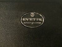 Vintage Buffet Crampon Evette Clarinet Made in Germany With Hard Case.