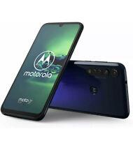 """New Motorola Moto G8 Plus Blue 6.3"""" 64GB Dual SIM Andriod 9 Unlocked Sim Free"""