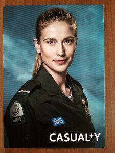 CHARLOTTE SALT *Paramedic Sam Nicholls* CASUALTY NOT SIGNED CAST CARD FREE POST