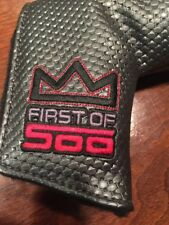 Studio Select First Of 500 Scotty Cameron putter head cover,
