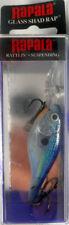 Rapala Glass Shad Rap GSR-5 (2 # 5 hooks) Glass Blue Shad ~NIB